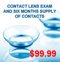 Contact Lenses promotion