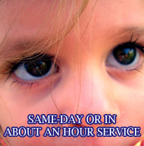 One hour eye care